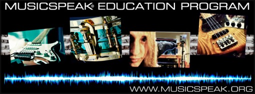 Contact now to start a progressive, creative education program available.  Multiple instruments and services, student/instrument crossovers between students ...and I travel to you.  - - - Drums, guitar, bass, percussion, production, business/album/live prep, gear selection and repair issues ....I've got you covered with 22 years of service throughout VT; Private lessons, workshops, and more for individuals and for groups.  All ages, flexible time slots and rates, affordable home lessons service, and exclusive curriculum = Musicspeak Education Program Students of all ages and levels welcome and encouraged. Home schooled students, special needs, multi-instrumentalist, school band tutoring are all part of the program ...jump in now and PLAY!