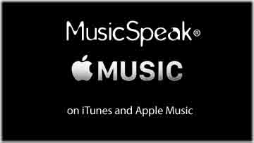 MusicSpeak Apple Music Speaks iTunes Gary Williams Musicspeak MP3 Streaming